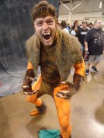 Fan Expo 2013: Sabretooth by NaruHinaFanatic