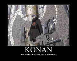 Konan The Christian by Pein-Rinnegan-Master