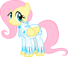 Fluttershy Diamond Suit Vector by icantunloveyou