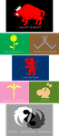 Mother 3 House Sigils by GalenaLarkin
