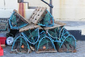 Lobster Pots by zombiemarshmellow