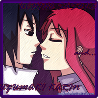 SasuKarin_Moment Before The Kiss by SuuFoxie