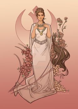 Alderaan Rose by khallion