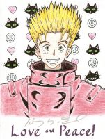 Vash: Love and Peace by blythedragon