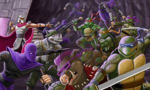 TMNT oldschool by tricketitrick
