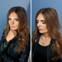 Kate Beckett cosplay makeup by Trillink