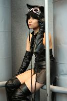 Cute Catwoman - NYAF NYCC '11 by MistMana
