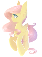 Fluttershy - ONE LAYER CHALLENGE by Rain-Ame