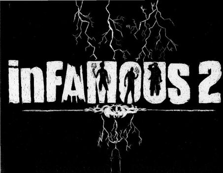 InFAMOUS 2 Logo additions by gorillazarebest
