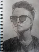 Synyster Gates drawing! by foREVerA7Xfan