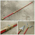 Dairanger staff - prop replicas by eitanya