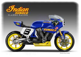 INDIAN SUNOCO  CLASSIC RACING CONCEPT by obiboi
