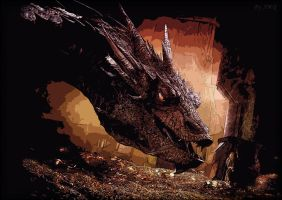 Smaug, the Magnificent by Susano360