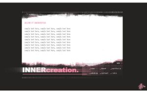Innervision. Website layout by hellfrequence66