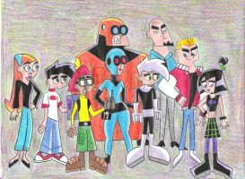 Danny Family and Friends by Phantomfan422