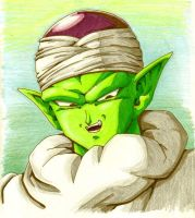 piccolo colored by Dokuro