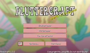 Fluttercraft Menu Screen!! by Nathor-Moonflare