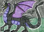 Disney- Dragon Maleficent by FlygonPirate
