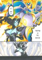 Skylanders Comic sample : IGNITOR versus HEX by MAD-project