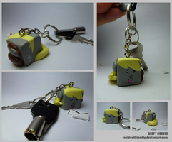 Derpy Hooves Keychain by Residentfriendly