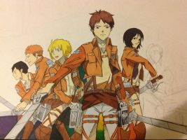 Attack on Titan by LeviHeichourivaille