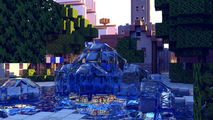 The Art of Minecraft Water by KingFromHatena