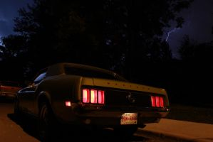 Mustang 'Sally' About To Ride The Lightning! by KyleAndTheClassics