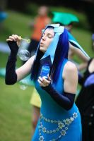 Glaceon Uses Bubble... by guardiansandi