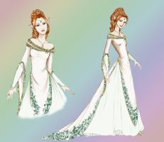 DAO:TMM The Bride-color by SoniaCarreras