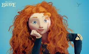 Disney's Brave - Merida by 1stylz