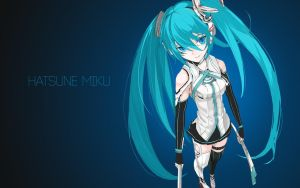 Hatsune Miku by AssassinWarrior