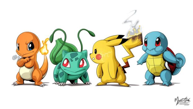 Pokemon Group by mysticalpha