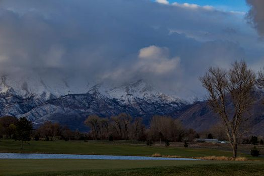 Lone Peak by artisticimposter