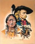 Sitting Bull and Yellow Hair by Edwrd984