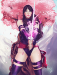 Strength through Serenity - Psylocke by Forty-Fathoms