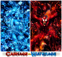 Carnage Vs. Waterage by Mohamed-HHs
