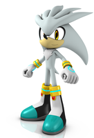 Silver the Hedgehog 2012 by Argos90
