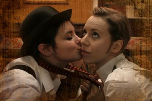 Holmes and Watson cosplay IV by MigraineSky