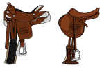RHSS Prize Saddles by theRyanna