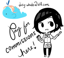 Commission Payment by Dirty-Whale