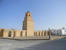 The Great Mosque of Kairouan by PezsmAlien