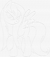 Wet Fluttershy (text pic) by AjgorB25