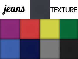 Jeans Texture - PSD with Tutorial by Nick356