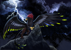 Corryvreckan: Dragon of the Storm by JeniRed