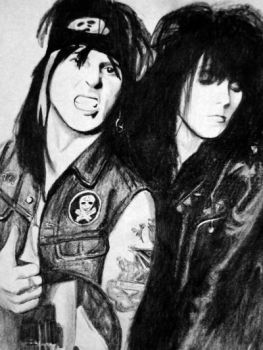 Tracii and Phil (L.A. Guns) by VampireSixx
