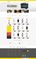 Shop Web Design for SALE by vasiligfx