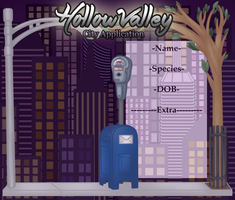 Hollow Valley - City Application by SalemTheCat23