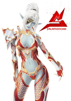 lineage 2 Render by Salamonchik 77 Dark elf by Salamonchik