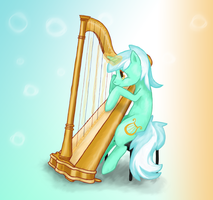 Lyra is a Harpist! by Alouncara