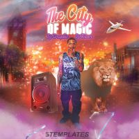 The City Of Magic CD Cover Free PSD Template by KlarensM